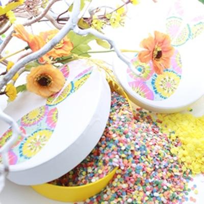 Захарни декорации / Поръски